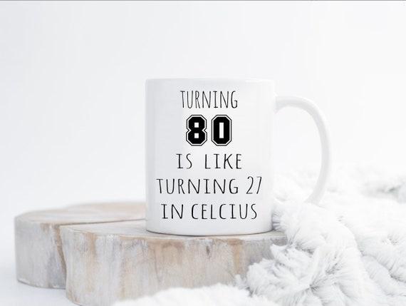 80th Birthday Mug Gift For Men Funny 80