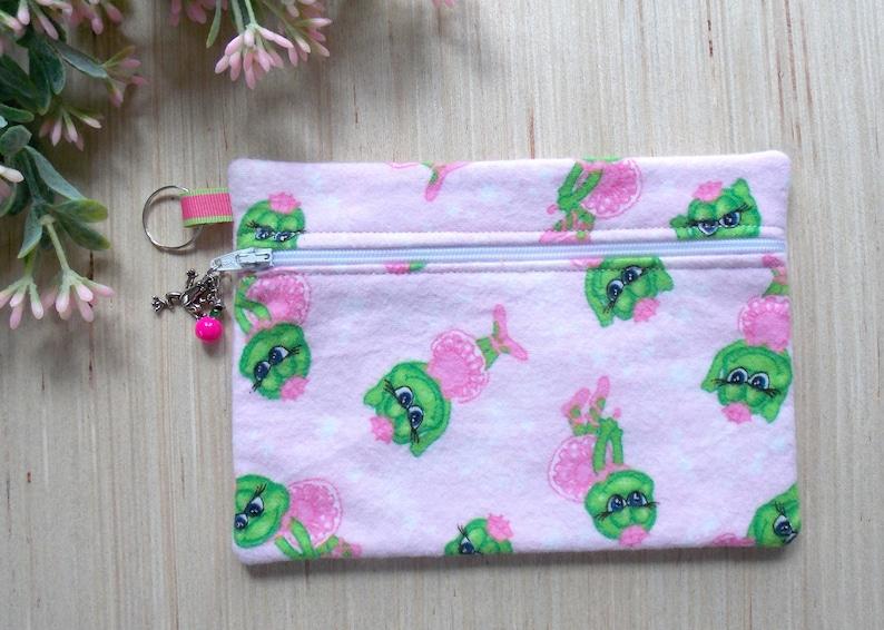Ballet Frog Lover Pencil Purse Gift Make Up Mini Bag Cosmetic Ballerina Case Ybym76Igfv