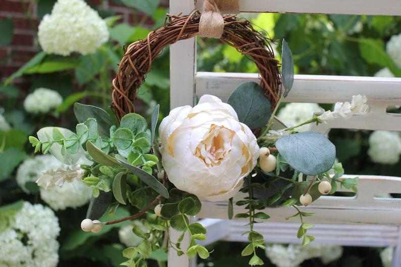 Wedding Chair Decor Wedding Aisle Decor Wedding Wreath Etsy