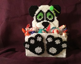 Handmade candy holder - Penny the Panda