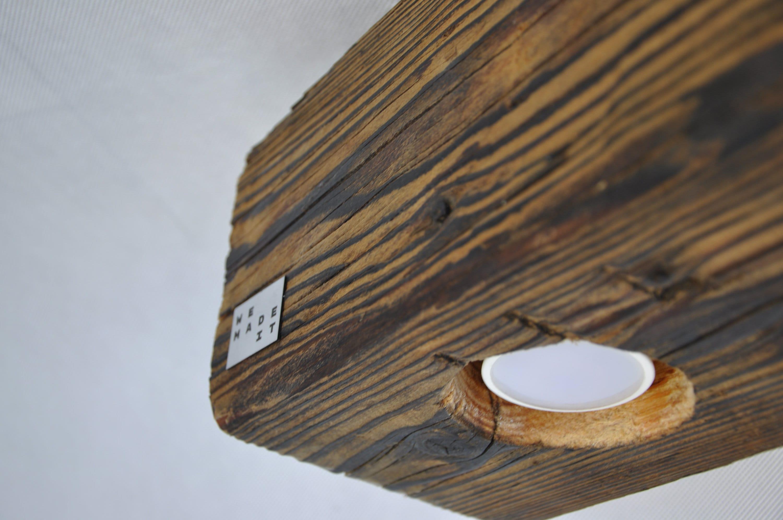 die lampe aus alten holzbalken etsy. Black Bedroom Furniture Sets. Home Design Ideas