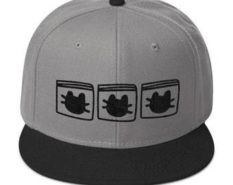 Catnip Bags CNG Snapback Hat - gray/black - green - white/black