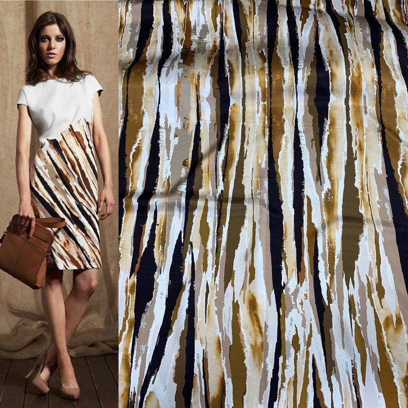 Italian silk designer fabric