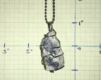 Blue Sodalite Charm