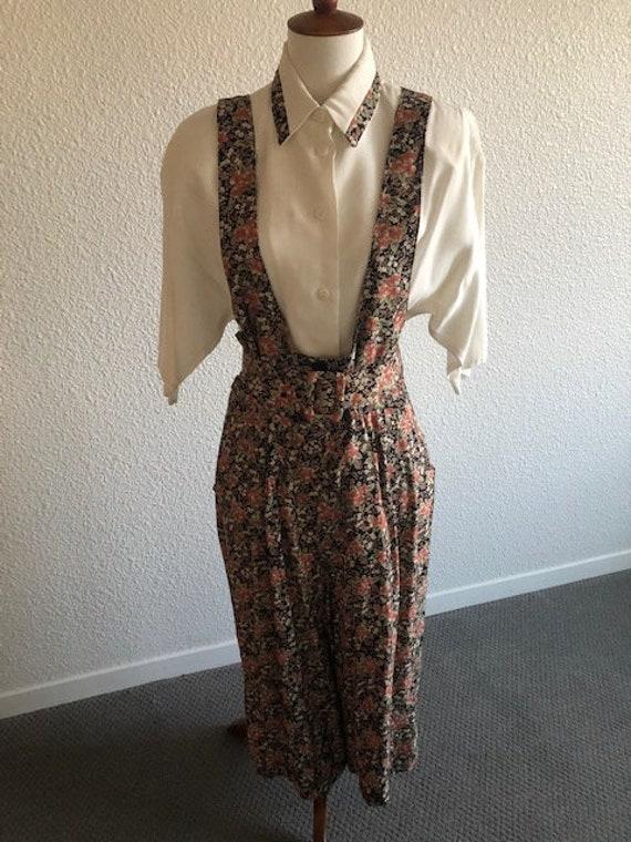 Size 10 Split Skirt Floral Jumper