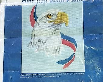 American Bald Eagle Cross Stitch Kit