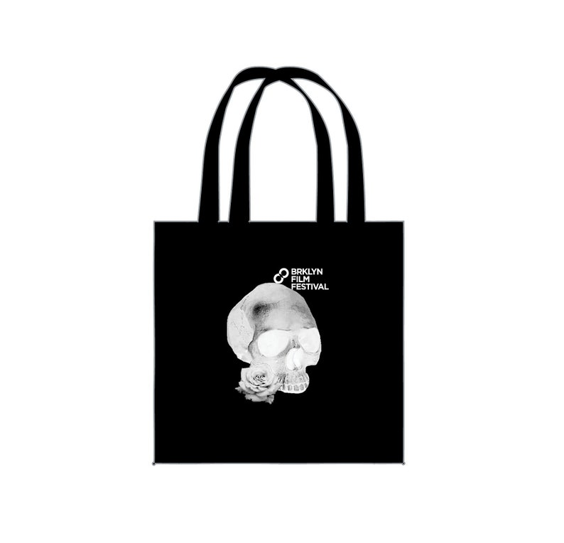 Brooklyn Film Festival Radical Skull Canvass Bag image 0