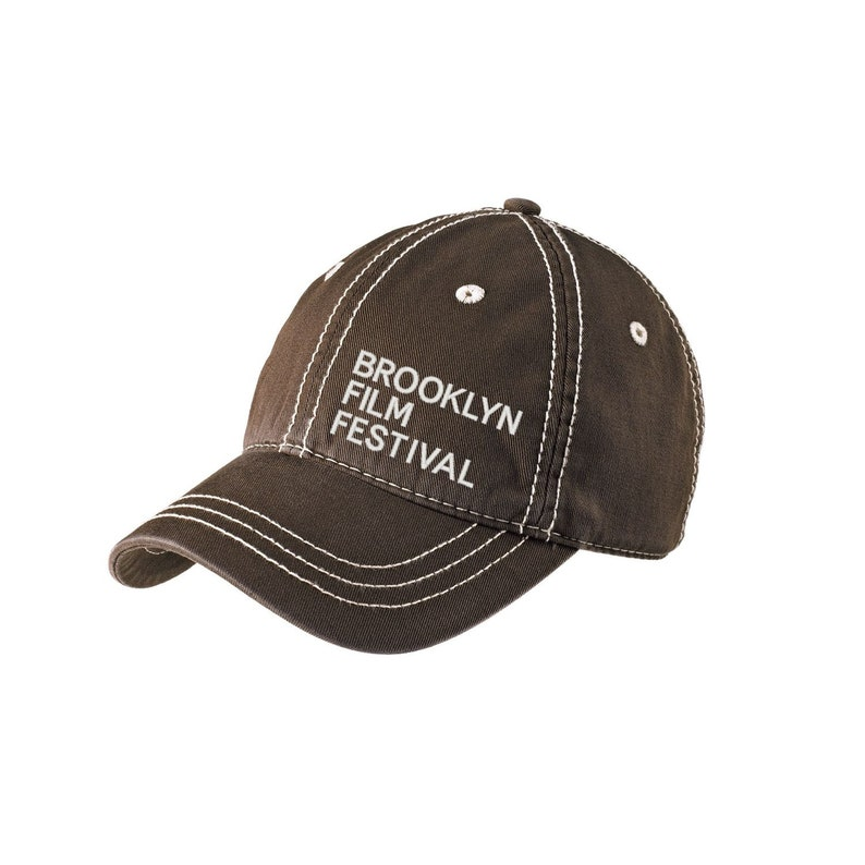 Brooklyn Film Festival District Embroidered Thick Stitch Cap image 0