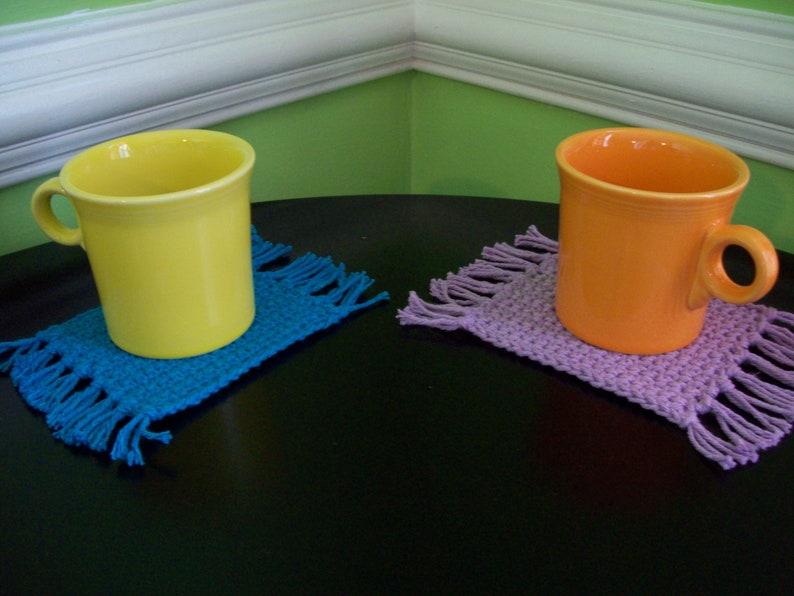 Mug Rug Coasters