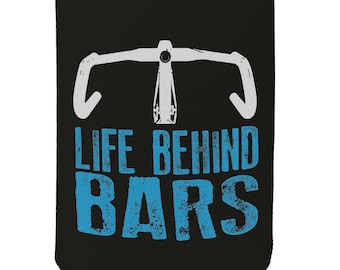 Funny Novelty Birthday Gift Buy Cheap Stubby Holder I Belong Behind Bars Gym Workout