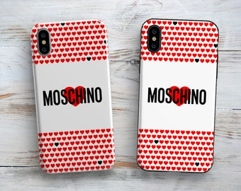 eca22591a4e Inspired by Moschino case Iphone X cover Samsung Galaxy case Luxury Brand  Iphone 8 case Moschino Google Pixel case Iphone 7 Moschino case