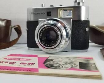 Ultra RARE Voigtländer VITO BR Rangefinder 35mm Film Camera w/ Proximeter & Case