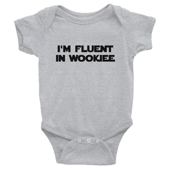 verkauf usa online extrem einzigartig harmonische Farben Wookiee Onesie, Star Wars-Strampler, Nerd-Baby-Body, Baby-Dusche-Geschenk,  neue Papa Geschenk, Baby Geburtstagsgeschenk, neue Baby-Geschenk