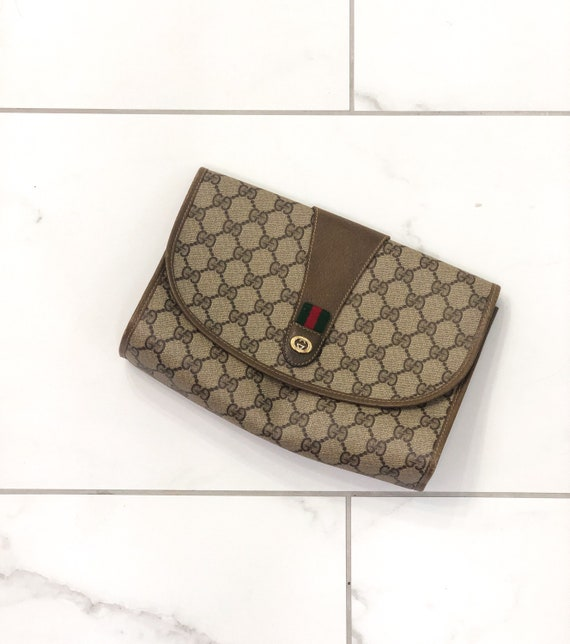 Authentic Gucci Clutch | Gucci Purse | Vintage Guc