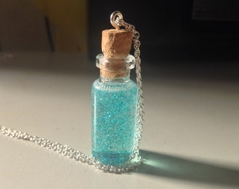 Fairy Dusts Charm Bottle Pendent