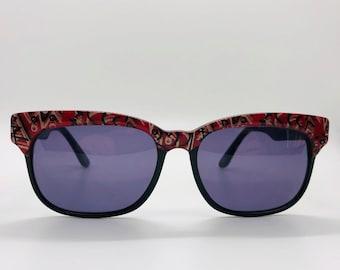 6a28bb27f03c vintage Naf Naf wayfarer style sunglasses from 80 s hand made in France