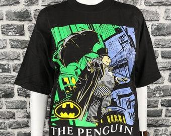 b1a0468e THE PENGUIN 1992 (Unworn) Vintage T-Shirt Dc COMIC Tee / Marvel Movie /  Spiderman / Hulk / Dr.Strange / Avengers / Akira