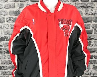 05eb4809ebb453 CHICAGO BULLS ( Unworn ) 90s Jacket Champion NBA Michael Jordan Warm Up  Track Vintage Rare
