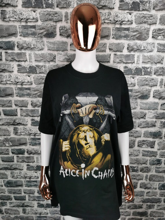 ALICE IN CHAINS 1991 Vintage T-Shirt Bleed The Fre