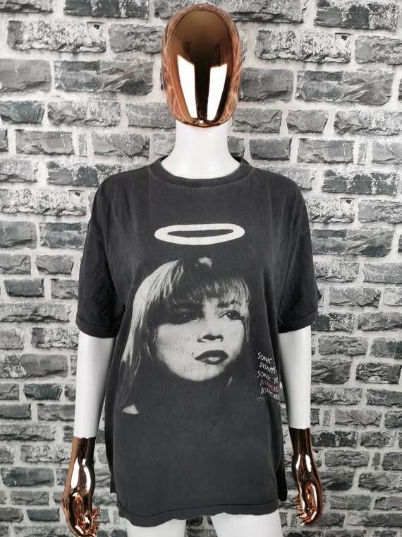 SONIC YOUTH 1991 Vintage T-Shirt / EXTREMELY Rare