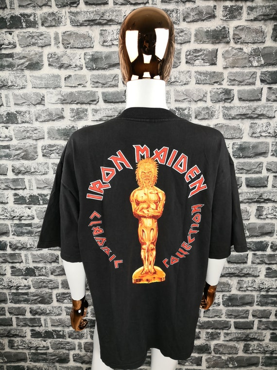IRON MAIDEN 1984 Vintage T-Shirt Aces High Classi… - image 2