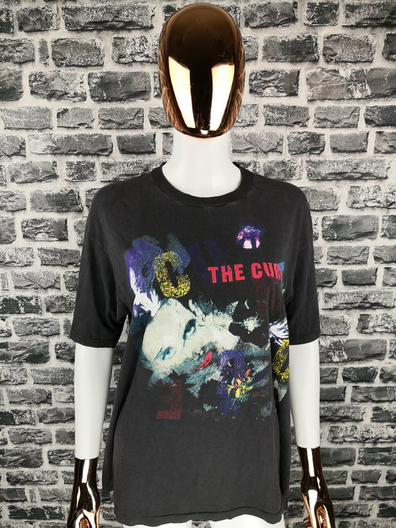 THE CURE 1989 Vintage T-Shirt The Prayer Tour Tee