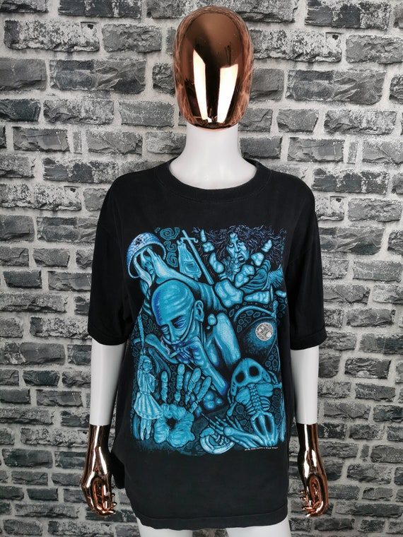 ALICE IN CHAINS 1993 Vintage T-Shirt Europen Tour… - image 1