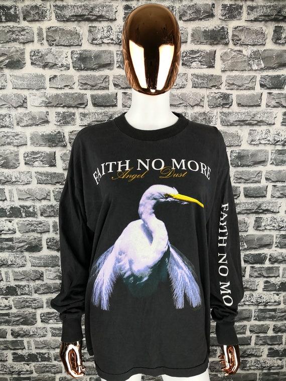 FAITH NO MORE 1994 Vintage Longsleeve Shirt Angel