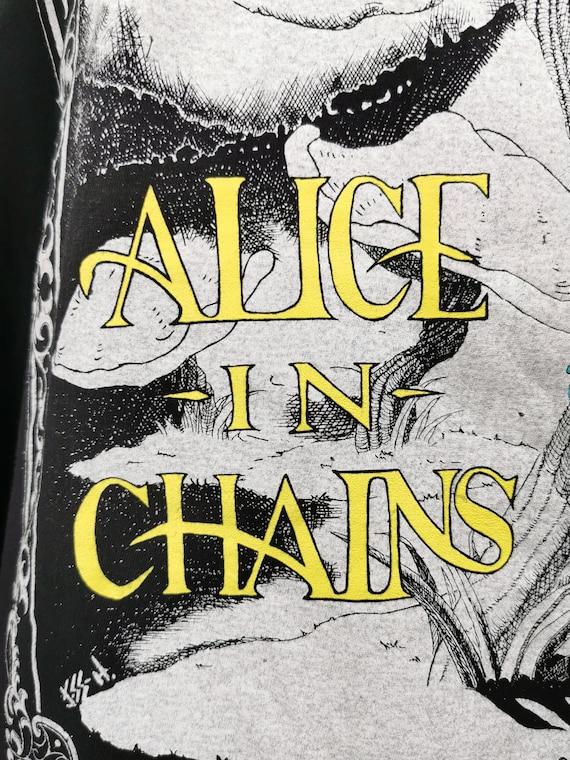 ALICE IN CHAINS 1992 Vintage Longsleeve Shirt Ali… - image 6