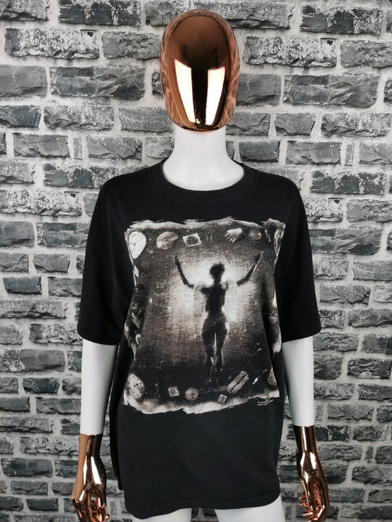 MINISTRY 1992 Vintage T-Shirt Psalm 69/ Brockum La