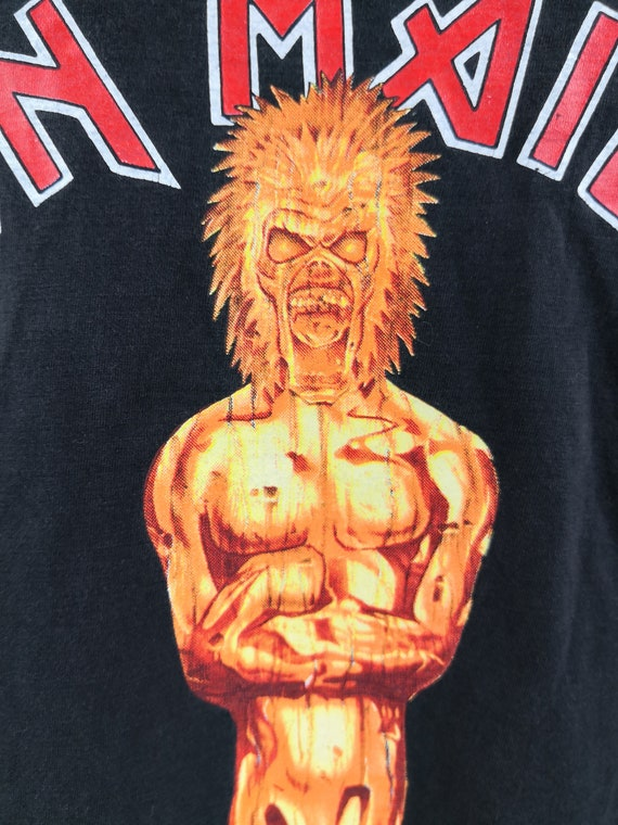 IRON MAIDEN 1984 Vintage T-Shirt Aces High Classi… - image 7