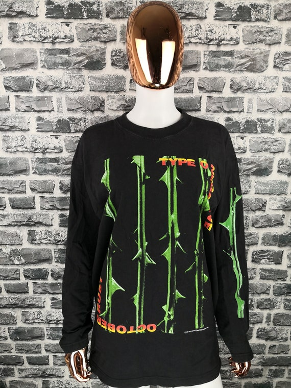TYPE O NEGATIVE 1996 Vintage Longsleeve Shirt Octo