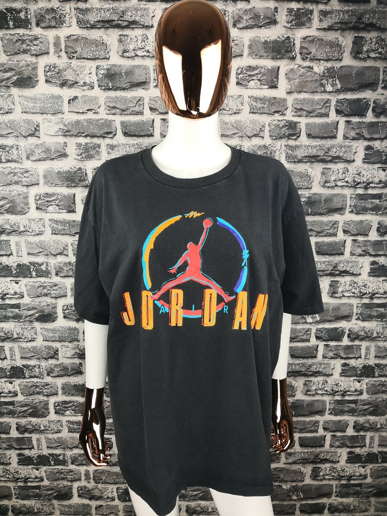 factory price 0e94d 2fce6 NIKE AIR JORDAN 90 s T-Shirt sauter homme Nba Bulls Basketball   Etsy