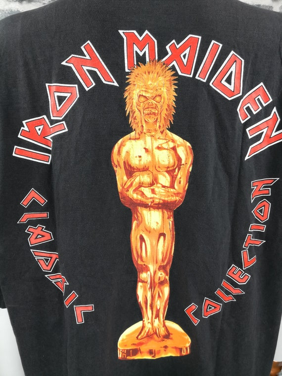 IRON MAIDEN 1984 Vintage T-Shirt Aces High Classi… - image 6