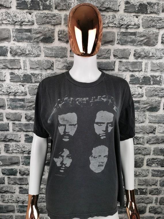 METALLICA 1991 Vintage T-Shirt Tour Tee