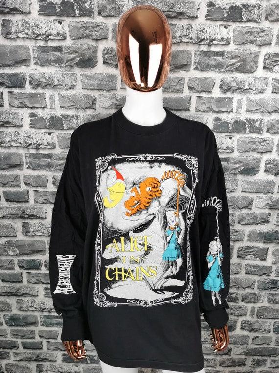 ALICE IN CHAINS 1992 Vintage Longsleeve Shirt Ali… - image 1