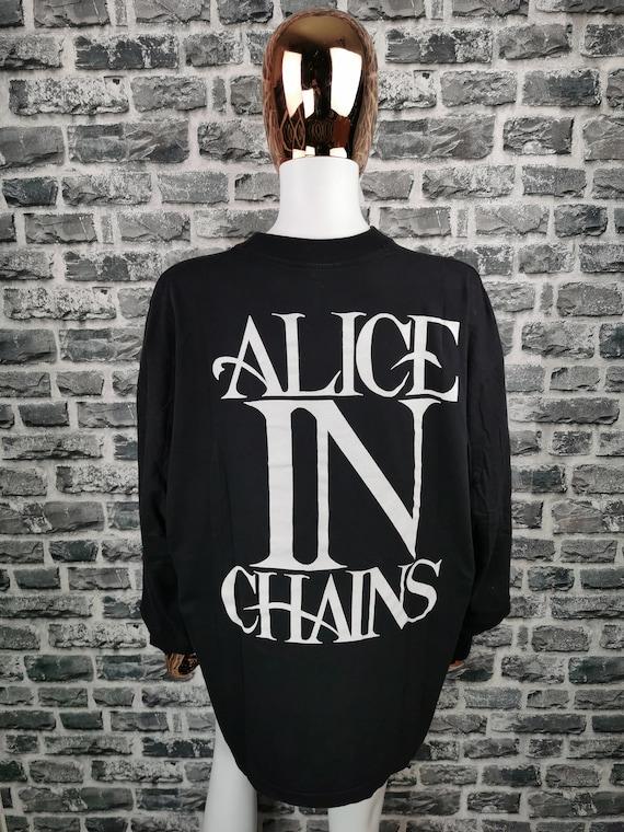 ALICE IN CHAINS 1992 Vintage Longsleeve Shirt Ali… - image 2