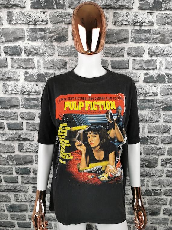 PULP FICTION 1994 Vintage T-Shirt Movie Cult Film