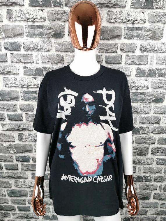IGGY POP 1993 Vintage T-Shirt American Caesar Euro
