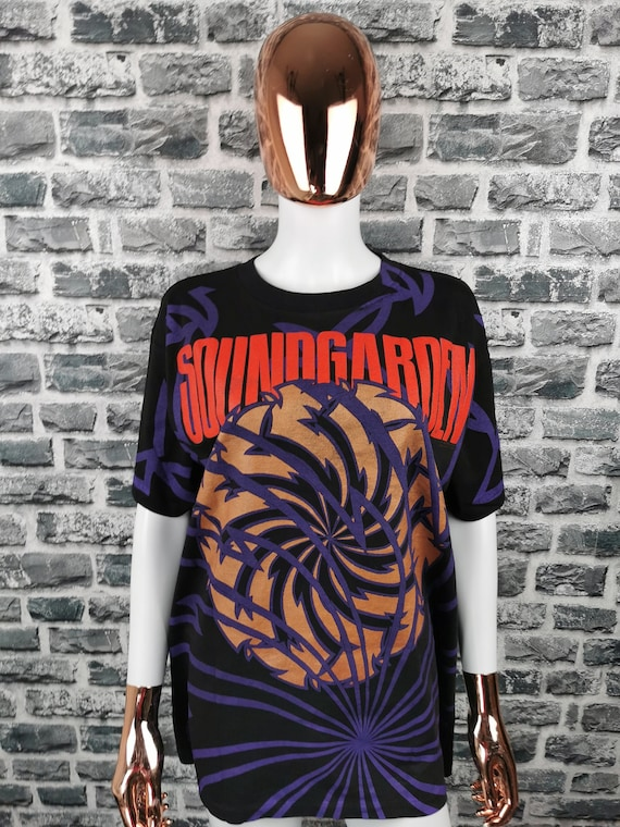 SOUNDGARDEN 1992 Vintage T-Shirt Full Print All Ov