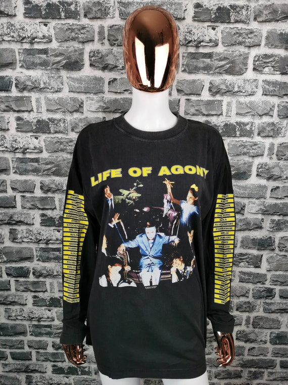 LIFE OF AGONY 1995 Vintage Longsleeve Shirt Lost a
