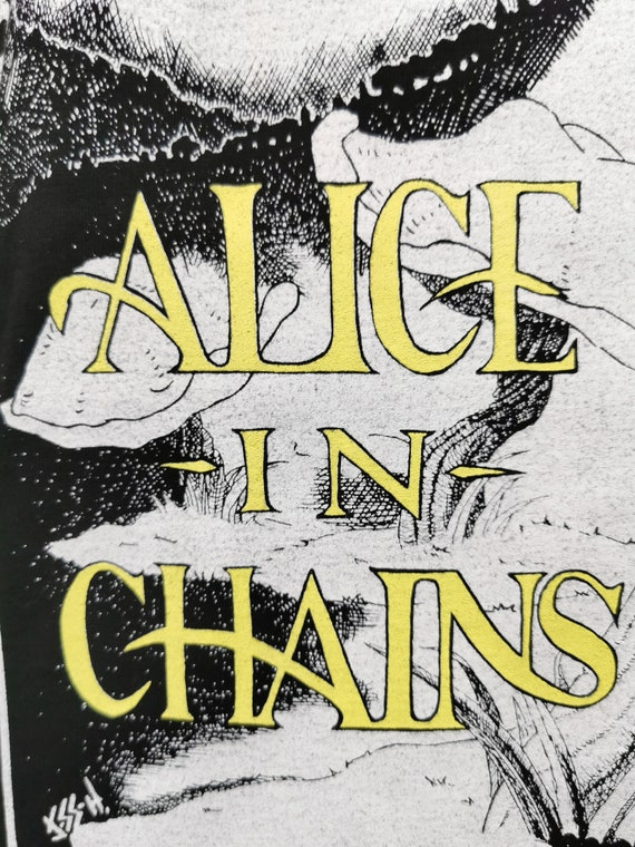 ALICE IN CHAINS 1992 (Unworn) Vintage Longsleeve … - image 6