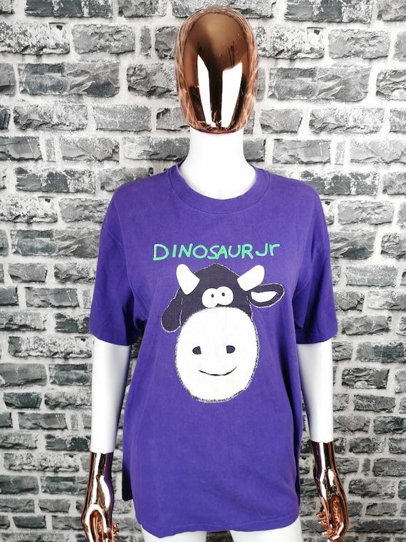 DINOSAUR Jr 1992 Vintage T-Shirt / Mega Rare / Ha… - image 1