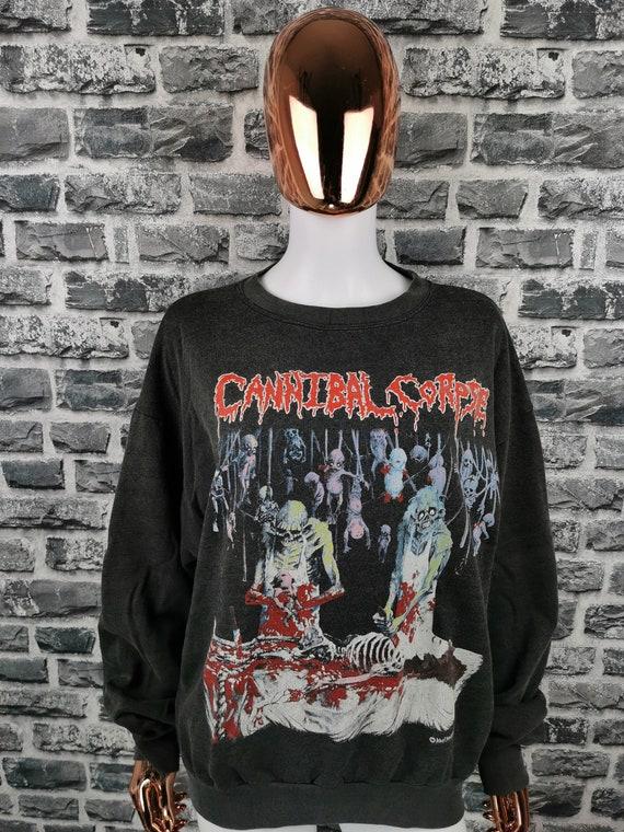 CANNIBAL CORPSE 1991 Vintage Sweatshirt Butchered