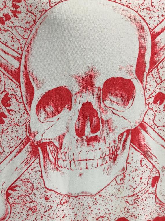 MOTLEY CRUE 1990 Vintage T-Shirt Dr Feelgood Rare… - image 4