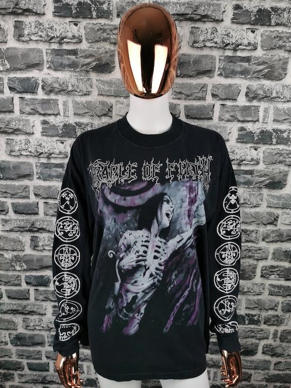 CRADLE OF FILTH Vintage T-Shirt Total Fucking Dark