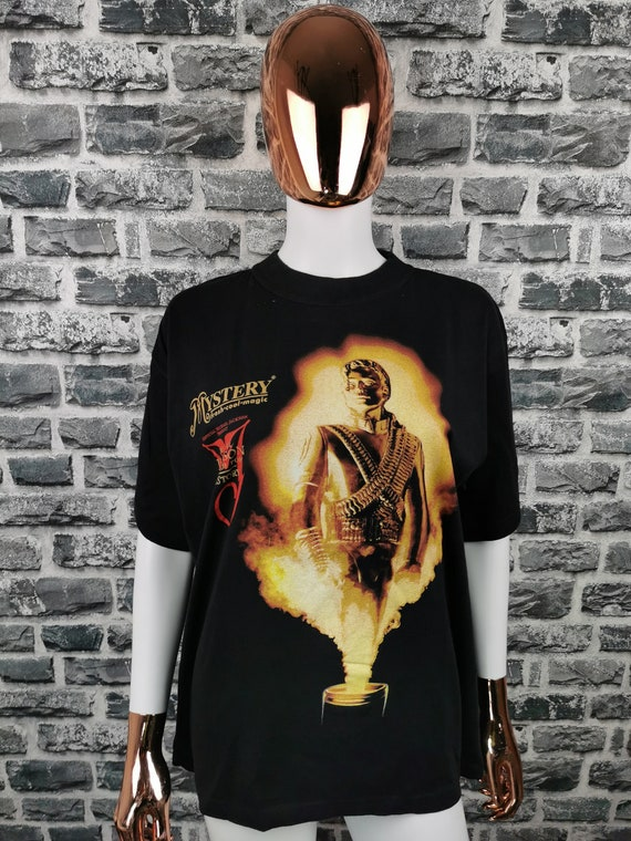 MICHAEL JACKSON 1996 Vintage T-Shirt Mystery Tour