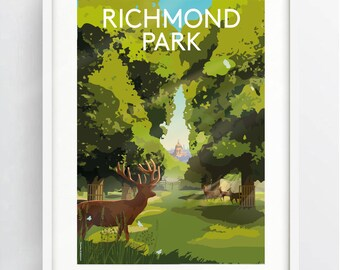 Richmond Park Etsy
