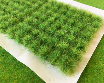 S-P Flower Tufts Model Scenery Railway Wargame Self Adhesive Static Grass Base