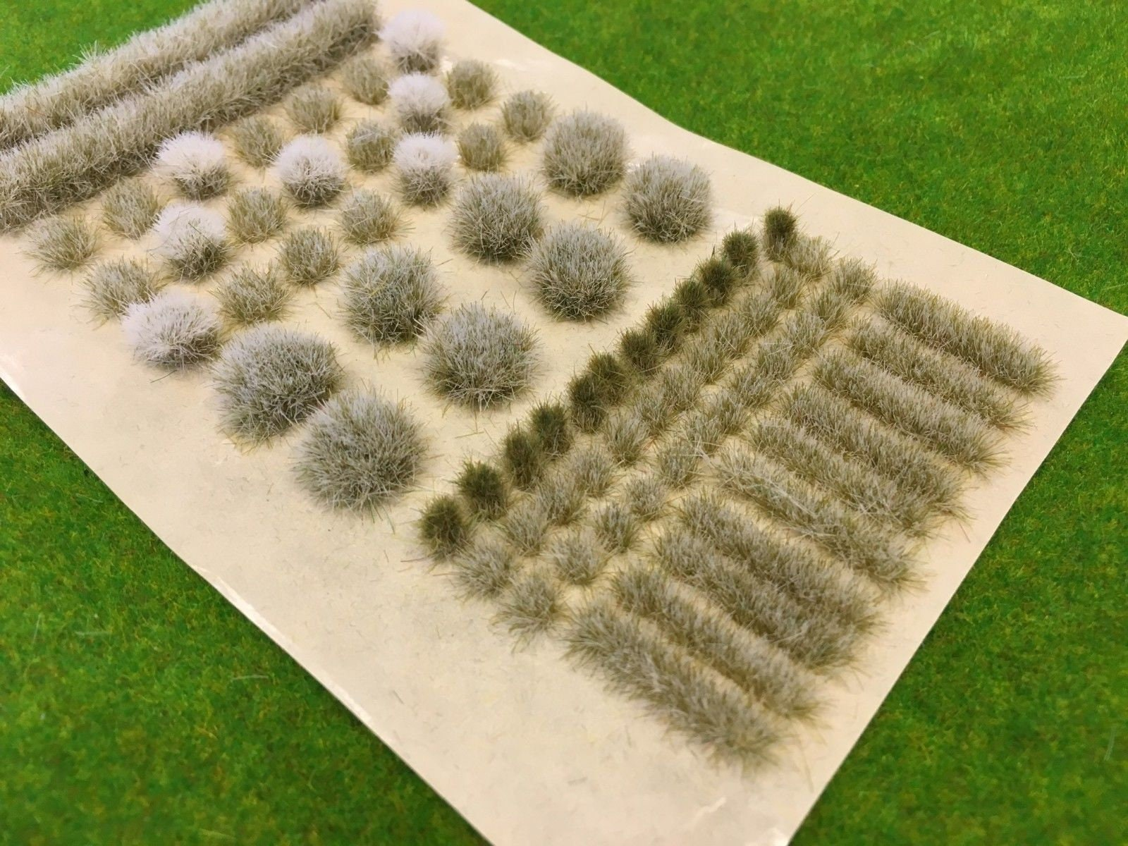 Spring BIG True Tufts mixed Scenery, Props & Buildings Wargames